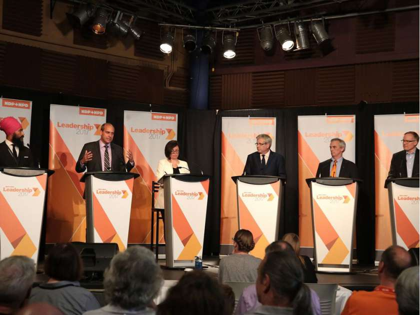 NDP ELECTIONWATCH 2017:  The Indifferent Layperson's Guide to the New Democratic Party Leadership Race (1/2)